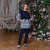 Нарядна блузка big size, фото 1