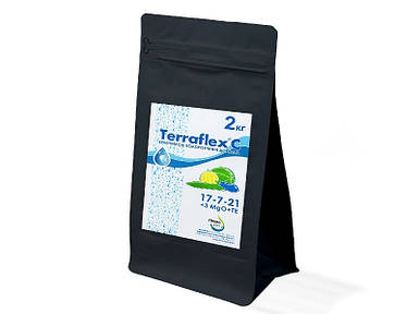 Удобрение Terraflex - C 17-7-21+3MgO+TE, 2 кг - Терафлекс