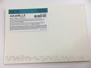 Папір для акварелі, А4+/10арк., 300г/м2, термозбіжна плівка