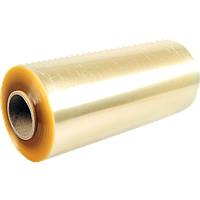 Стретч-пленка пищевая ПВХ  300мм*500 м, желтая