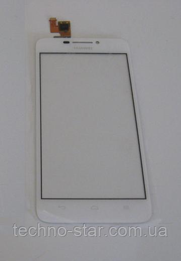 Оригінальний тачскрін / сенсор (сенсорне скло) для Huawei Ascend G630-U10 (білий колір)