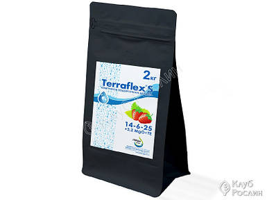 Удобрение Terraflex - S 14-6-25+3.2MgO+TE, 2 кг - Терафлекс