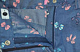 Шорты детские для девочки SmileTime Jeans Bow, джинс, фото 3