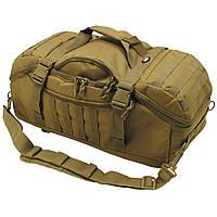 "Рюкзак-сумка MFH ""Travel"" 48 літрів койот, фото 1"