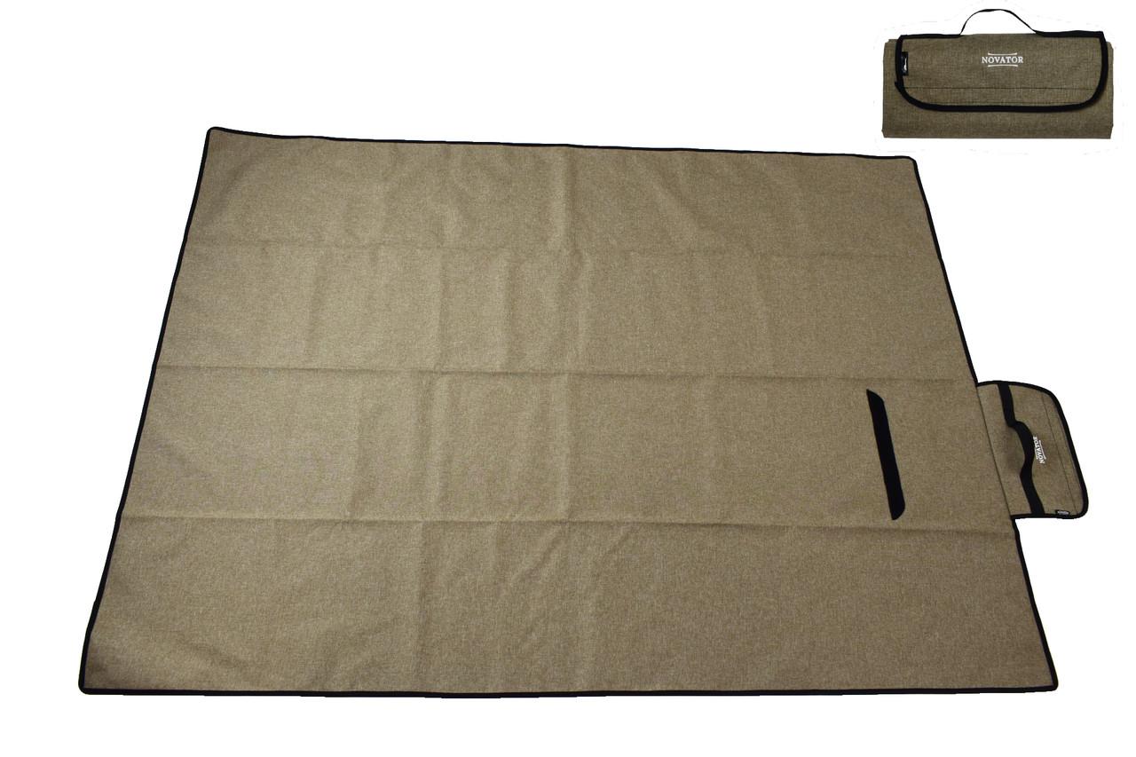 Килимок для кемпінгу Novator Picnic Brown 200х150 см