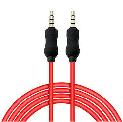 Аудио кабель Aux 3.5mm - 3.5mm 2 pin (1m)