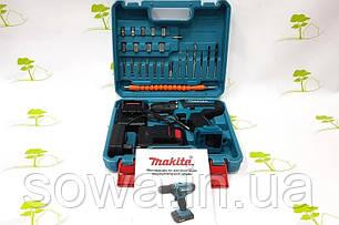 Акумуляторний шуруповерт Makita DF550DWE з набором : 24V : 2A.h, фото 2