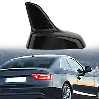 Универсальная Декоративная антенна на крышу автомобиля Акулий плавник на крышу авто Чёрный