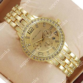 Кварцевые наручные часы Michael Kors Brilliant Gold/Gold 1627
