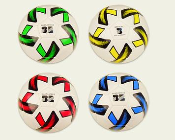 М'яч футбольний 230г, PVC,4 кольор. №E31264(50) КІ