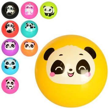 М'яч дитячий №MS2655,9 дюймів,ПВХ,малюнок,панда,60г,мікс видів