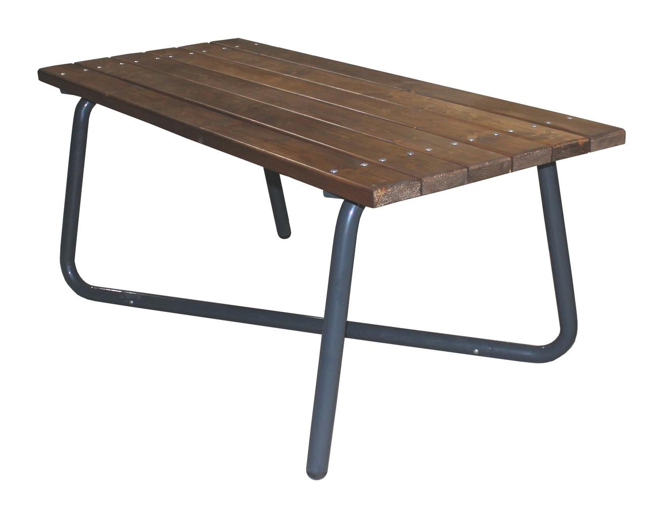 Стол Rud садовый (металл, дерево) 1800х800 мм