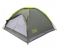 Палатка туристическая 210 х 210 х 140 см 3-местная Green Camp 1012
