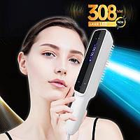 Dermalight BU-10 UVB LED 308 nm для лечения заболеваний кожи, с гребнем, со встроенным таймером