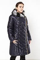 Женская куртка на холлофайбере  EDGO P-121 синий скидка