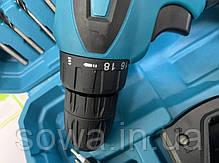 Акумуляторний шуруповерт Makita DF330D + набір інструментів : 12V : 2A.h, фото 3