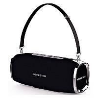 Портативна бездротова Bluetooth колонка Hopestar Original A6 SUPPER BASS Black чорна Speaker, фото 1