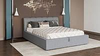 Кровать деревянная двуспальняя Каролина 6 с механизмом Мир Мебели, Кровать для спальни с мягким изголовьем