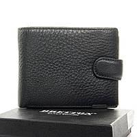 Мужской кожаный кошелек Bretton M3603 black. Купить мужские кошельки оптом и в розницу