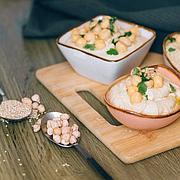 Кунжутная паста тахини и хумус