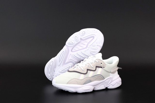 Жіночі кросівки Adidas Ozweego White Pink фото