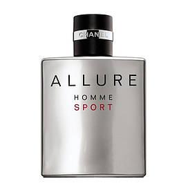 Флакон  Chanel Allure Homme Sport комплект (флакон+распылитель+крышка)