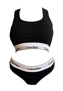 Женское белье Calvin Klein Комплект стринги + топ
