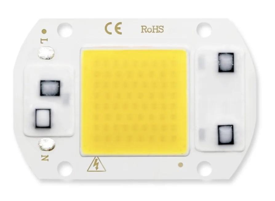 Світлодіод ЛІД, LED 30Вт 220В - теплий білий
