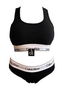 Женское белье Calvin Klein Комплект слипы + топ