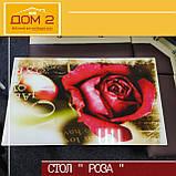 Стол со стеклянной столешницей Роза, фото 4