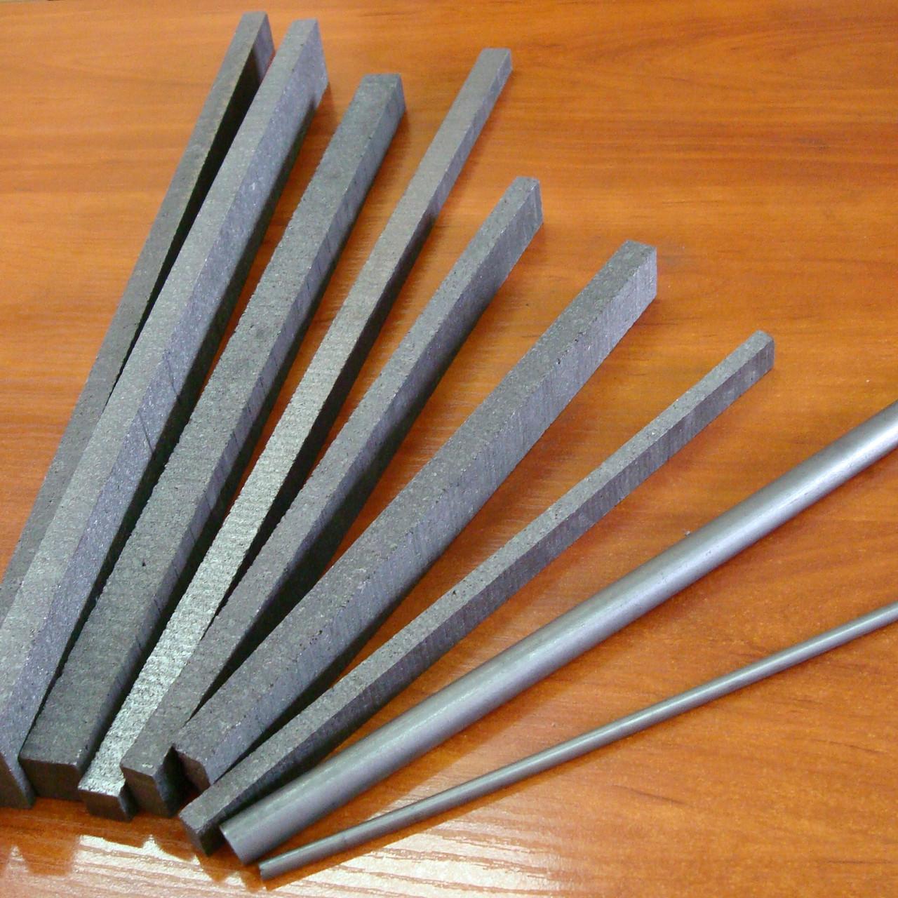 Пластины графитовые для воздушно-дуговой резки и строжки металлов в ассортименте