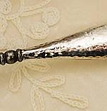 Антикварный крючок для пуговиц, для кодлеров, стальной с серебряной ручкой, Англия, серебро, начало прошлого в, фото 7