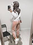 Куртка жіноча з плащової тканини з капюшоном 35-395, фото 8