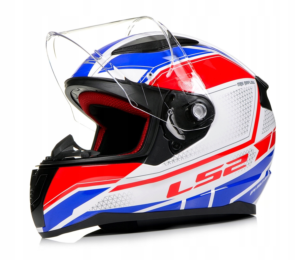 Мото шлем LS2 FF353 Rapid Infinity White/Red/Blue