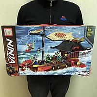 Конструктор Ниндзяго Летающий корабль Мастера Ву Ninjago PRCK 61060 705 деталей