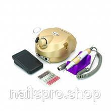 Фрезер для маникюра US-601 на 65 Вт - 35000 об/мин золотой