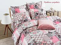 ТМ TAG Комплект постельного белья Прованс розовый