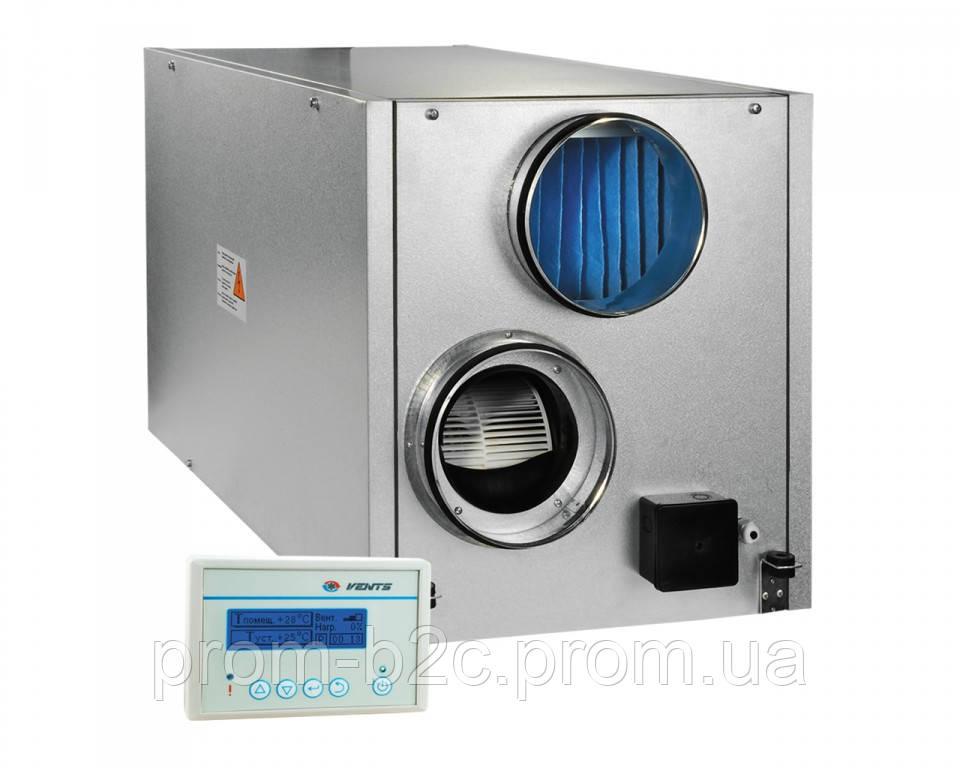 ВЕНТС ВУТ 800 ЭГ - приточно-вытяжная установка с рекуператором