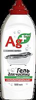 """Гель для чищення ванн і раковин """"Антибактеріальний"""" Ag+ 500 мл BIO FORMULA"""