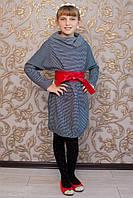 Платье детское с поясом кушак