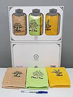 Кухонні рушники Махрові (ТМ Niltex) бавовна 40*60 (3шт.) Туреччина