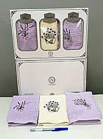 Кухонные полотенца Махровые  (ТМ Niltex)  хлопок 40*60 (3шт.) Турция