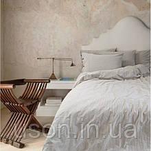 Комплект постельного белья Barine Washed cotton евро размер Shint beige бежевый