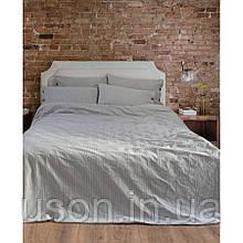 Комплект постельного белья Barine Washed cotton евро размер Shint antrasit антрацит