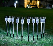 Газонні LED світильник (садово-парковий ґрунтовий) на сонячних батареях CAB 115 Lemanso