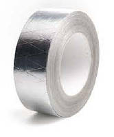 Скотч алюминиевый армированный 50х50х35мкм