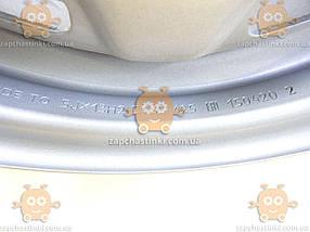 Диск колесный ВАЗ 2108 - 2170 ШИРОКИЙ! R13х5.5 (светло серый) (пр-во КрКЗ) О 1731648045, фото 2
