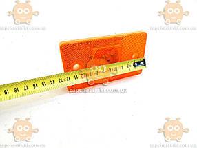 Ліхтар габаритний бічний 24В Вантажні Авто (оранжевий, світлодіод LED) (пр-во ДК) ПРО 0237846251, фото 3