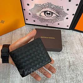 Мужской кожаный кошелек Bottega Veneta