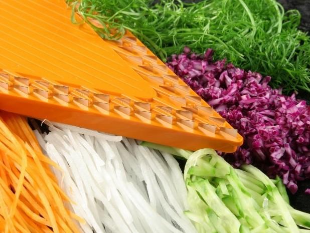 Дополнительная вставка 1,6 для овощерезки Бернер Оптима Оранжевая
